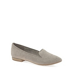 Marco Tozzi - Taupe 'Meitner' womens casual slip on shoes