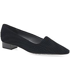 Peter Kaiser - Black 'Lisana' low heeled shoes