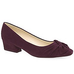 Peter Kaiser - Purple suede 'Indora' womens dress court shoes