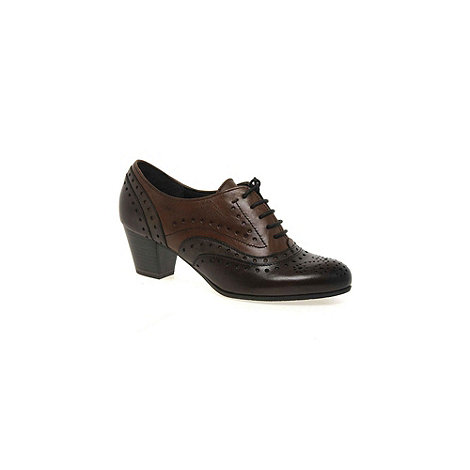 Marco Tozzi - Brown +jackie+ womens high cut court shoes
