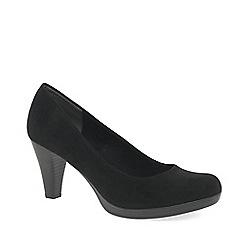 Marco Tozzi - Black 'bethel' womens court shoes