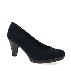 Marco Tozzi - Navy 'bethel' womens dress court shoes