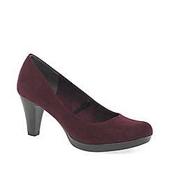 Marco Tozzi - Wine 'bethel' high heel court shoes