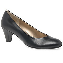 Gabor - Black 'Vesta 2' womens court shoes