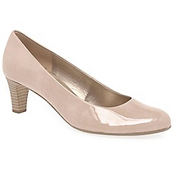 Gabor - Natural 'Vesta 2' womens court shoes
