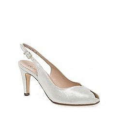 Peter Kaiser - White 'Sandrie' Womens Court Shoes