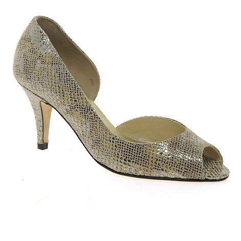 Van Dal - Metallic 'Morston' womens court shoes