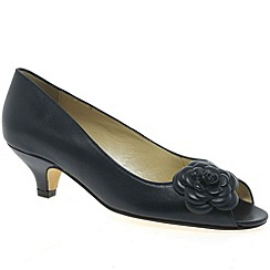 Van Dal - Navy 'Titchwell' womens court shoes