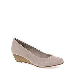 Marco Tozzi - Metallic 'Quibble II' Womens Court Shoes