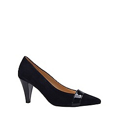Gabor - Dark blue 'Erskine' womens court shoe