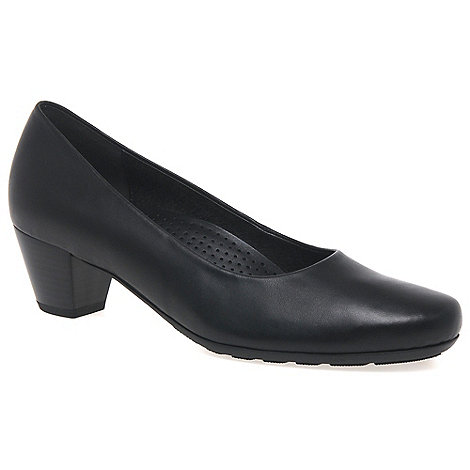 Gabor - Black +Brambling+ Womens Court Shoes