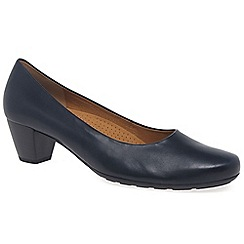 Gabor - Navy 'Brambling' Womens Court Shoes
