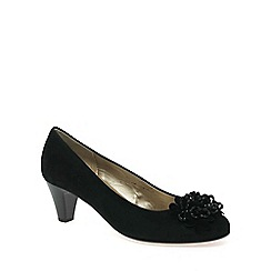 Gabor - Black 'Alentjo' womens court shoes