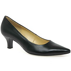 Gabor - Black 'Nairn' Womens Court Shoes