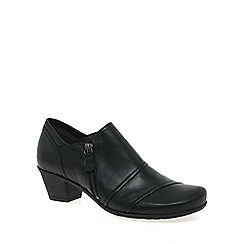 Gabor - Black 'Roost' womens high cut shoes