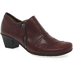 Gabor - Red 'Roost' womens high cut shoes