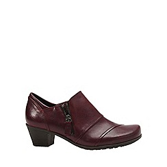 Gabor - Wine 'Roost' womens high cut shoes