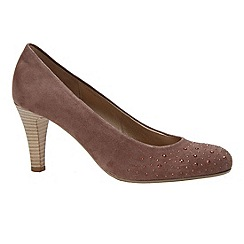 Gabor - Beige 'roxburgh' women's court shoes