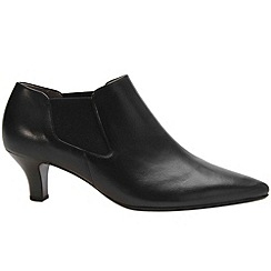 Gabor - Black 'Valerina' womens high cut court shoes