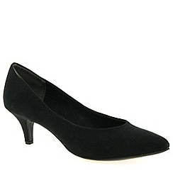 Marco Tozzi - Black 'Eclipse II' Womens Court Shoes