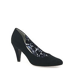 Marco Tozzi - Black 'Hosanna' Womens Dress Court Shoes