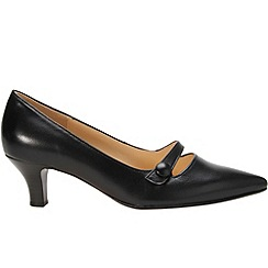 Gabor - Black 'charity' women's court shoes