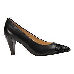 Gabor - Black 'Brax' Womens Modern Court Shoes