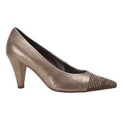 Gabor - Metallic 'Brax' Womens Modern Court Shoes