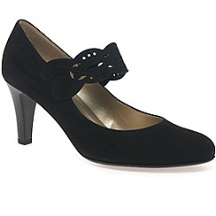 Gabor - Black 'Angelique' Womens Mary Jane Court Shoes