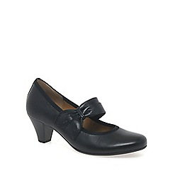 Gabor - Black 'coltrane' womens dress court shoes