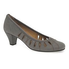 Gabor - Taupe 'Roxette' modern court shoes