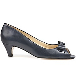 Van Dal - Navy 'Belton' womens open court shoes