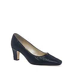 Van Dal - Navy 'Howe' womens court shoes