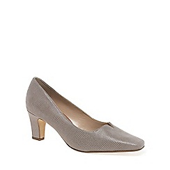 Van Dal - Taupe 'Howe' Womens Court Shoes