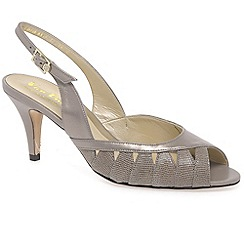 Van Dal - Beige 'gresham' womens open court shoes