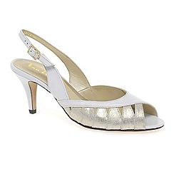 Van Dal - White 'Gresham' women's open court shoes