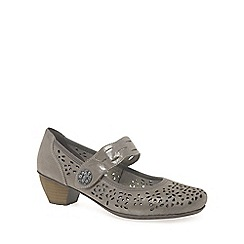 Rieker - Taupe 'Ava' womens court shoes