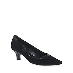 Gabor - Black 'Springfield' womens dress court shoes