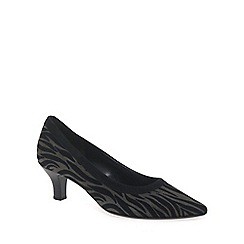 Gabor - Brown 'Springfield' womens court shoes