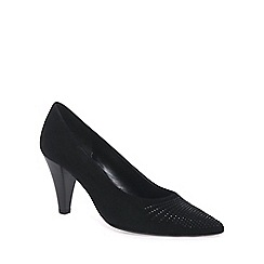 Gabor - Black 'Dalcross' womens court shoes