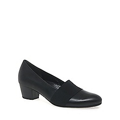 Gabor - Black 'Sovereign' womens court shoes