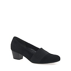 Gabor - Near black 'Sovereign' womens court shoes