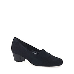 Gabor - Navy 'Sovereign' womens court shoes