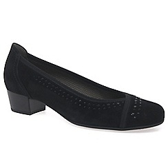 Gabor - Black 'Toot' womens court shoes