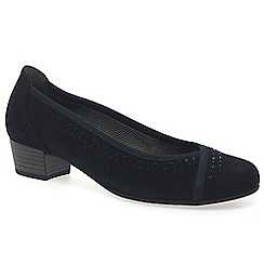 Gabor - Navy 'Toot' womens dress court shoes