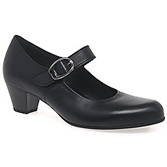 Gabor - Black 'Dunelm' womens court shoes