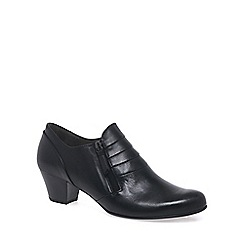 Gabor - Black 'Cruiser' womens wide fit trouser shoes