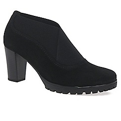 Gabor - Black 'Impulse' womens high cut court shoes