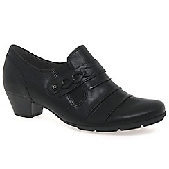 Gabor - Black 'Eleanora' womens high cut court shoes
