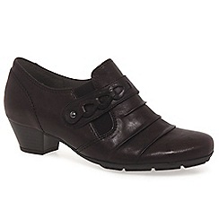 Gabor - Wine 'Eleanora' womens high cut court shoes